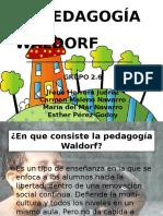 La Pedagoga Waldorf