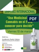 Simposio Internacional Cannabis Medicinal