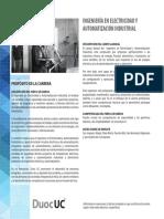 Ingenieria en Electricidad y Automatizacion Industrial