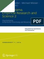 Christia Stadler, Michael Wieser, Kate Kirk -Psychodrama. Empirical Research and Science 2-Springer (2016)