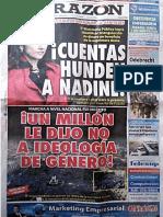 """Suplemento """"Con Mis Hijos No Te Metas"""". Diario La Razón del 05.03.2017"""