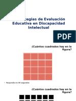 Estrategias de Evaluacion Educativa