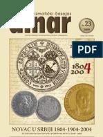 Serbia Dinar 23-2004