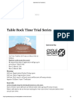 Table Rock Time Trial Series