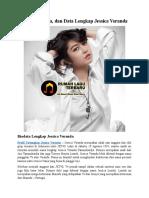 Profil, Biodata, Dan Data Lengkap Jessica Veranda