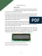 Membuat Aplikasi LCD
