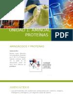 1. Aminoácidos y Proteínas 2015