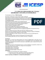 Manual do I Curso de Operadores de Câmara Hiperbárica Multiplace de Brasilia