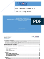 Argosy Collegiate Grade 6 Global Literacy Scope and Sequence