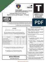m01 t Agente Tecnico de Necropsia