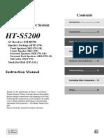 HTs5200 User Manual