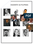 Mga Presidente Sa Pilipinas