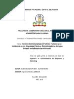 048 GESTIÓN ADMINISTRATIVA DEL TALENTO HUMANO Y SU INCIDENCIA EN LAS EMPRESAS PÚBLICAS ADMINISTRADORAS DE AGUA POTABLE EN LA PROVINCIA DEL CARCHI - ORTEGA, NUBY LILIANA.pdf