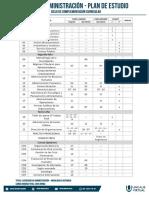 Plan de Estudio Administracion Ccc