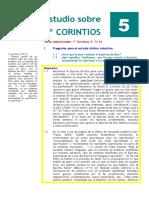 1º Corintios. Estudio 05