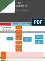 Plantilla Matriz de Congruencia