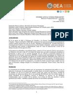 Informe Misión Electoral  OE Plebiscito Colombia 2016