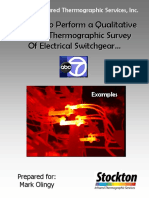 Electrical Switchgear IR Survey Example Pages