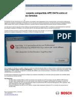 APE 3.0_Manual Tecnico_Conexion Cliente-servidor Carpeta APEDATA_052015