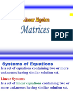 Lesson 1 - Matrices and Determinants