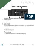 ProDesk 400 G2.5 Manual