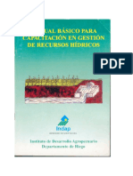 Manual Basico Para Gestion de Agua