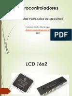 Manejo de LCD 16x2