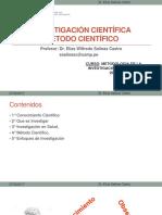 Clase 1_Investigación y Método Científico