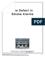 The Defect in Smoke Alarms