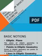 Elliptic Geometry