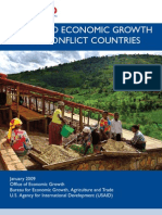 A Guide to Economic Growth in Post-conflict Countries