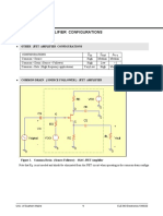 JFET Common Drain Amplifier v03