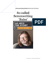 02 So-Called Screenwriting Rules Scott Myers