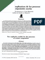 Scardamalia, Marlene - Dos modelos explicativos de los procesos de composicion escrita.pdf