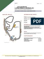 Pricelist Gran Premio f1 de Brasil Es