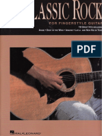 Classic Rock for Fingerstyle Guitar - 18 Great Hits Fixed Pages