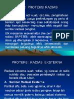 Dasar Proteksi Radiasi
