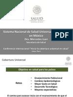Sistema Nacional de Salud Universal Experiencia en Mexico