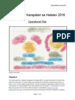 Operational Plan - Bantay Karapatan Sa Halalan 2016 - Google Docs