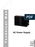 AC Power supply Skanti