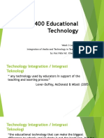 Lecture 3 Integration of Media and Technology in Teaching
