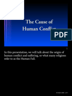 1 Day Cause of Human Conflict-Manual HC
