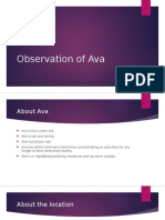 observation of ava  1