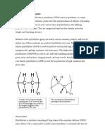 Introduction to Polyethylene