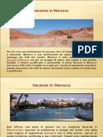Vacanze in Marocco Tour
