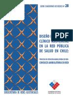 Diseño del proceso clinico asistencial en la red publica de salud en chile