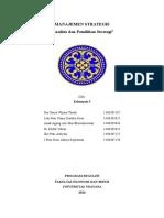 Analisis Dan Pilihan Strategi (Kelompok 5)