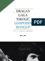 Dragan Gaga Nikolic Gospodin Mangup