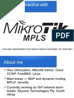 Mikrotik MPLS