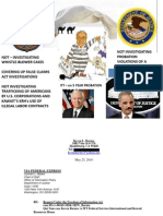 FREEDOM OF INFORMATION ACT REQUEST - DOJ AND ARMY CID COVERING UP FOR CONVICTED FELON - ITT CORPORATION
